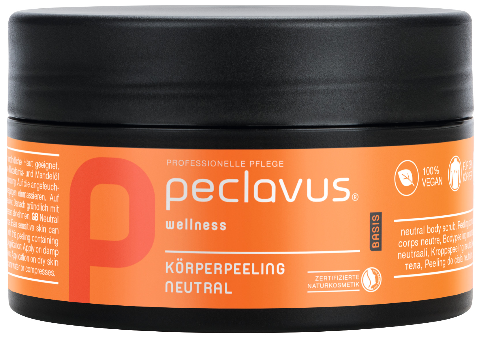 peclavus Körper-Peeling Neutral - Basis